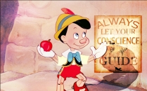 Pinocchio might want to check in with conscience more often.